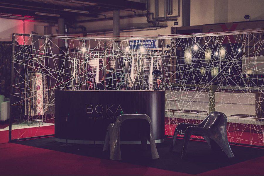 Messestand BOKA Architektur © Roger Günther Photography