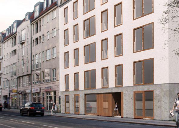 BOKA Architektur Hochbau Studentenwohnhaus Studio B40 Dresden