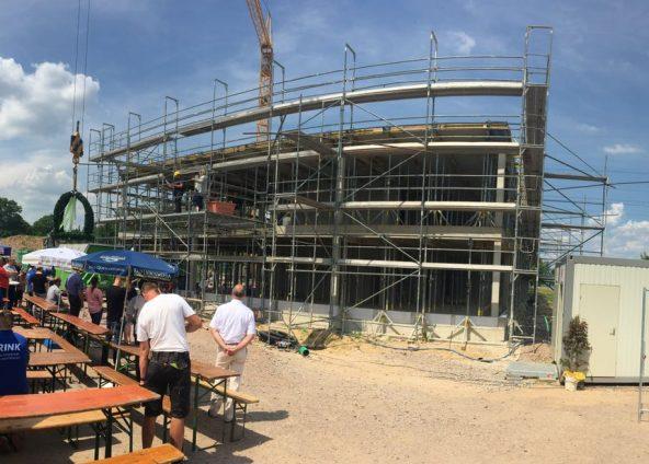 aktuelles Projekt: Richtfest Neubau Rink