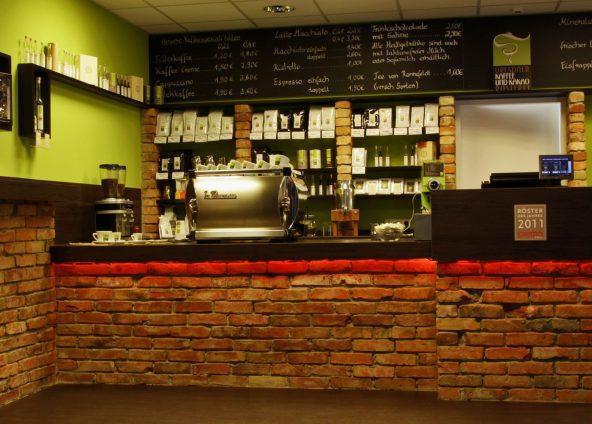 BOKA Architektur Ladenbau Kaffeerösterei