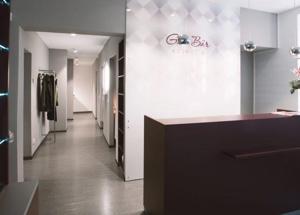 BOKA Architektur Ladenbau Kosmetikstudio Gabi Bär