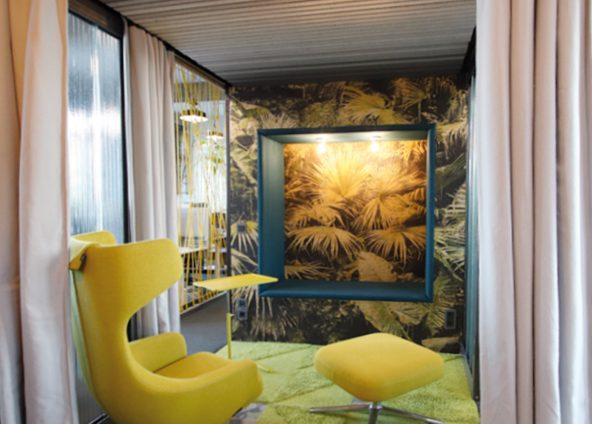 Arbeitswelten der Zukunft, Meeting-Zone, Work-Box, Pausenraum, Raum-in-Raum-Lösungen, Büro-Loft, Dresden, Architektur, Handwerk, Akustikvorhänge, Akustik