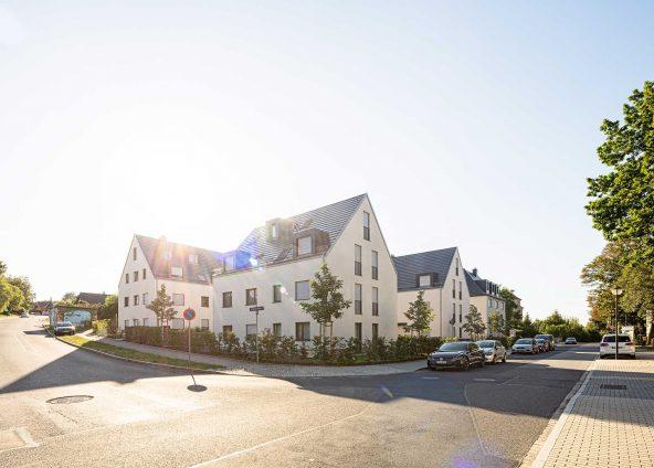 BOKA Architektur Wohnungsbau Park Quartiere Dresden Altfranken