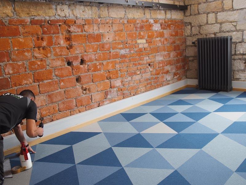 Desingnbodenbelag, Akustik, Schallreduktion, fletcocarpet, Büro-Loft, Arbeitswelten der Zukunft, Bodenbelag